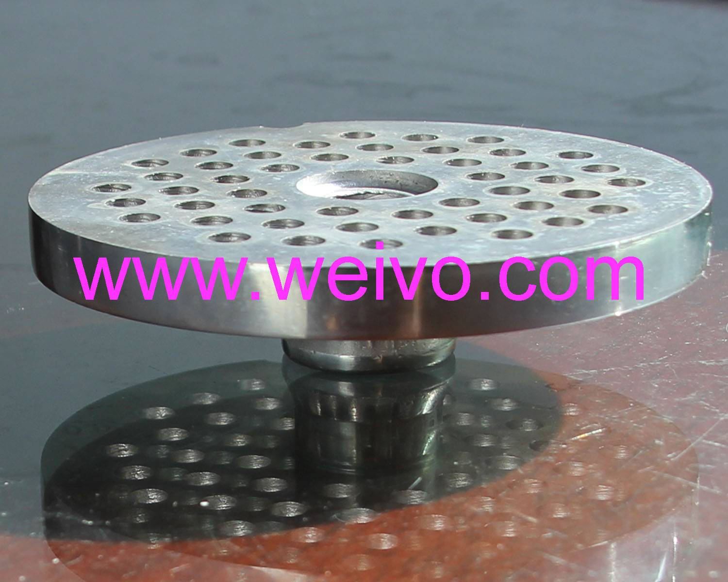 32# 60mm Meat Chopper Blades/ Meat Grinder cutting plates with hub/ Meat chopper knife and plate