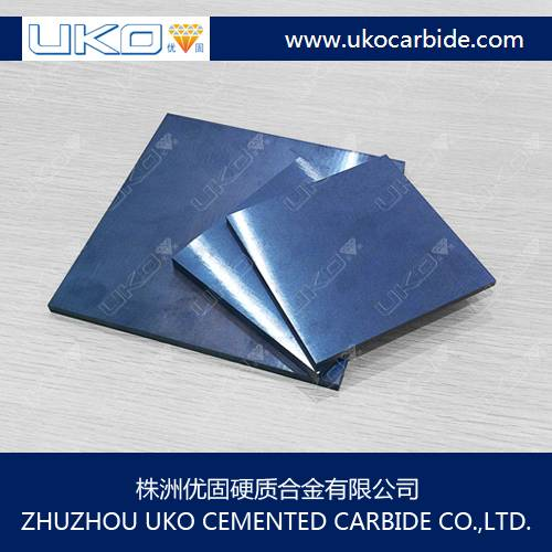 machine parts and tools from tungsten carbide plate