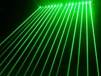 800mW green head beam DJ laser show stage lighting