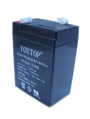6V4Ah battery for Emergency light
