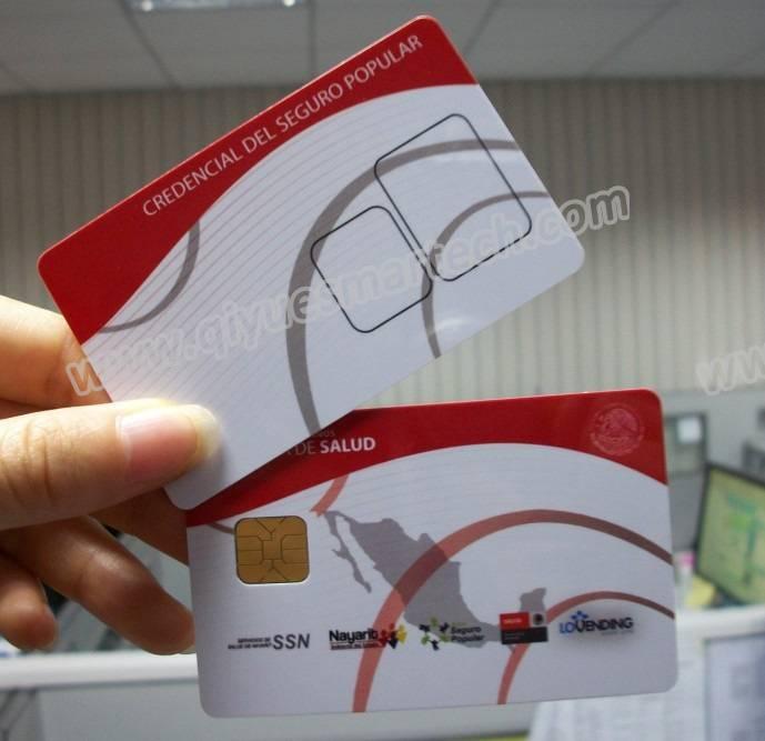 Printing SLE4428 Smart Contact IC Card