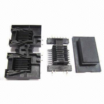 EE/EF/ETD/RM/PQ/POT/EER Series Bobbins for Ferrite Core, Used in Switching Power Transformers