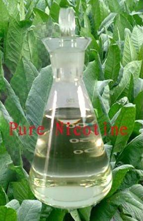 pure nicotine liquid