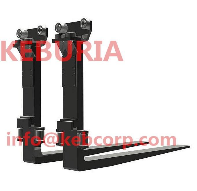 roller guided fork for forklift truck forklift roller fork arm