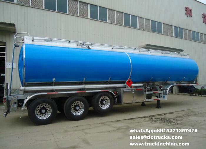 42M3 Aluminum fuel tank semi-trailer