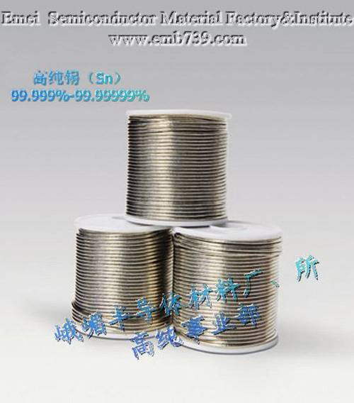 High purity Stannum(Sn) 5N-7N