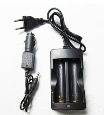 charger double channel charger for 2pcs 18350