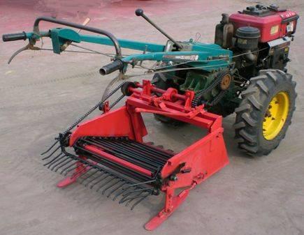 Combine Potato Digger/hand tractor potato harvester