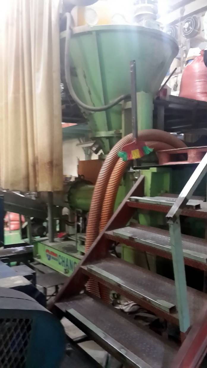 planetary roller extruder --used