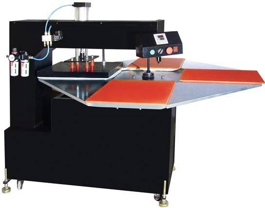 Automatic Four Stations Heat Transfer Machine