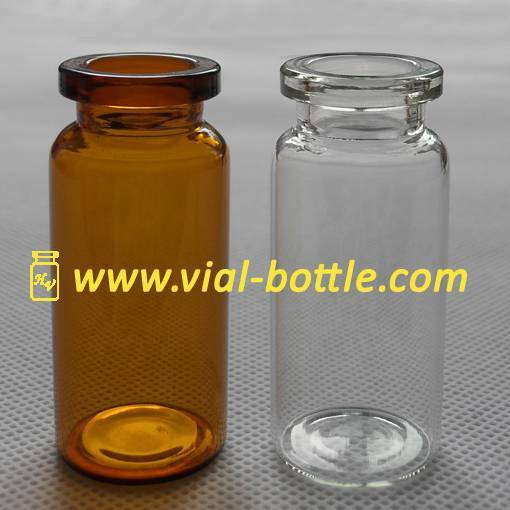 10ml amber glass vials resist light activated