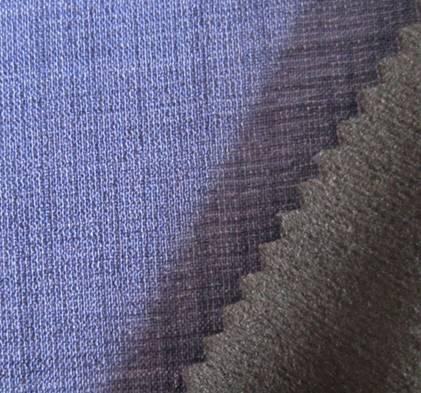 plain special imitation linen fabric+tpu+fleece