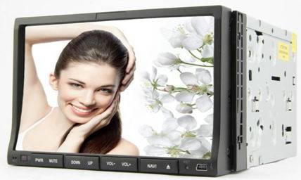 7 2-Din Universal Car DVD GPS + Bluetooth + iPod + Radio + Remote Control + USB/SD/Aux-Input