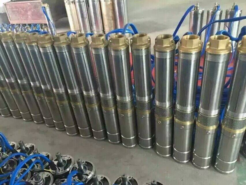 solar submersible pump for irrigation brushless dc submersible solar pumps