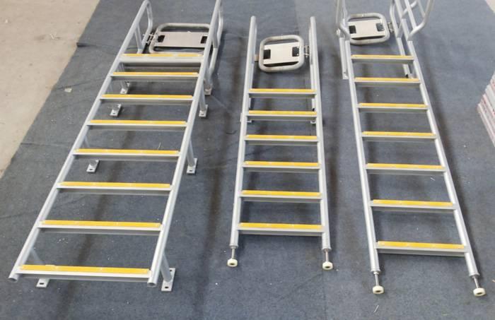 High Building Aluminium Escape Ladder
