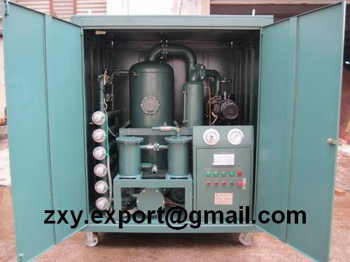 Double-Stage High Vacuum Transformer Oil Purifier