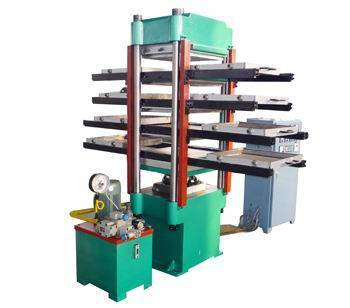 rubber tile making rubber press