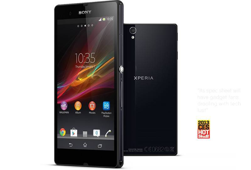 Sony Xperia Z the World's Sharpest 5 Smartphone Cell phone