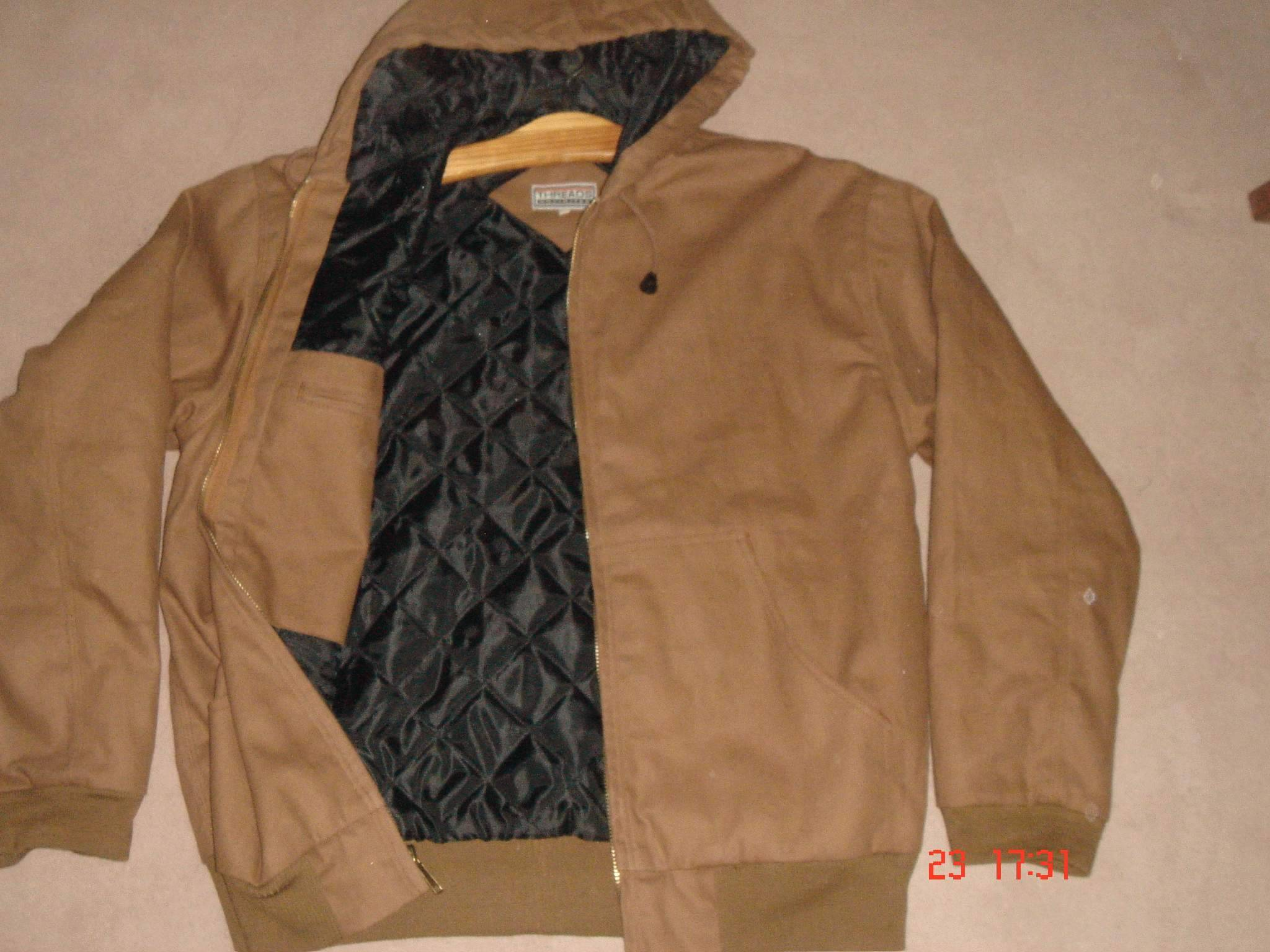 Mens Canvas Quilted JAcket