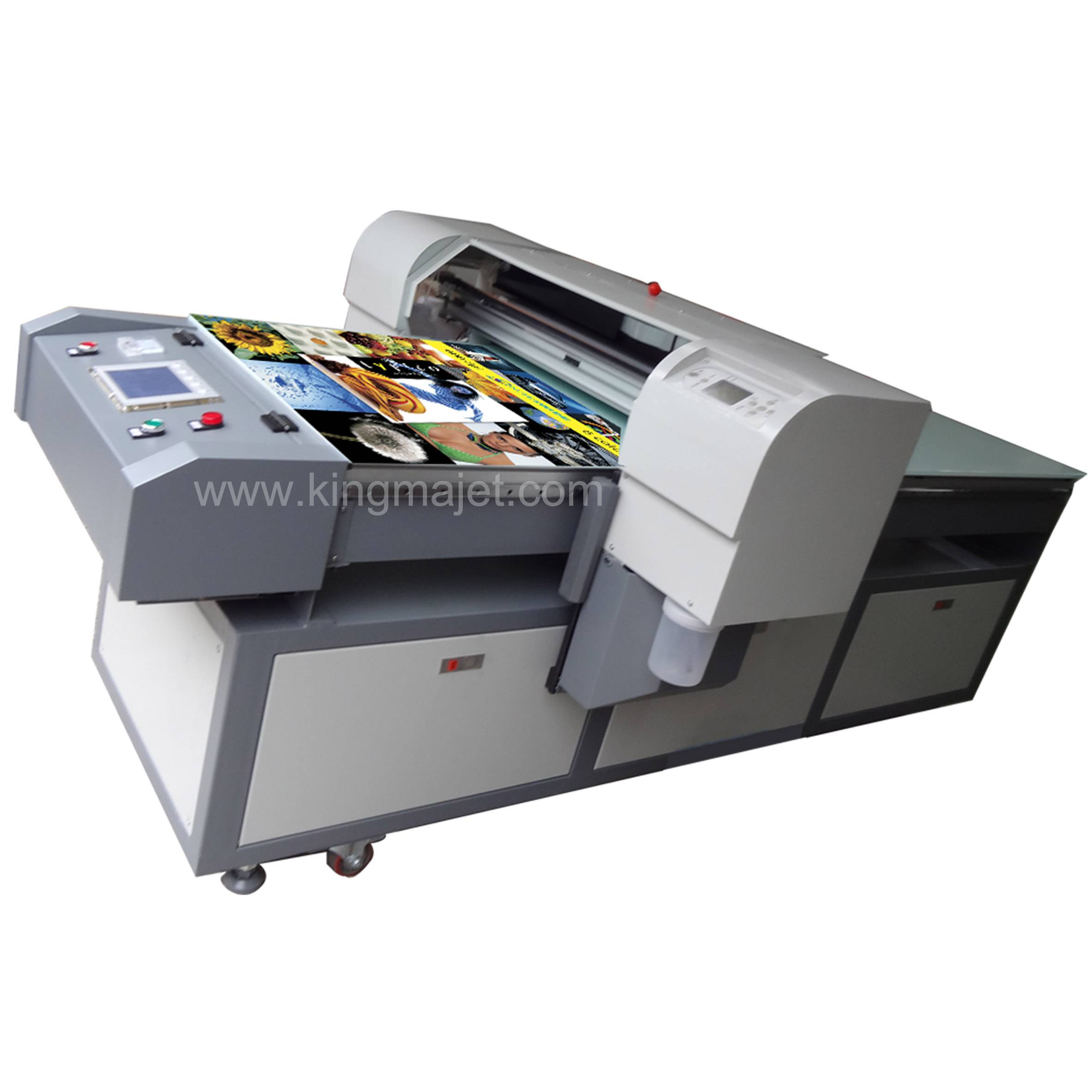 Weihang MJ6018-8 color Digital Flatbed Printer for Gift Items