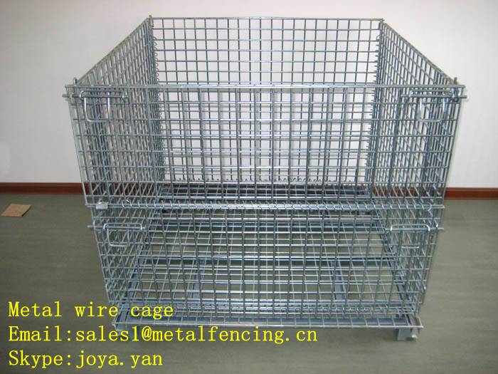 Metal wire cage