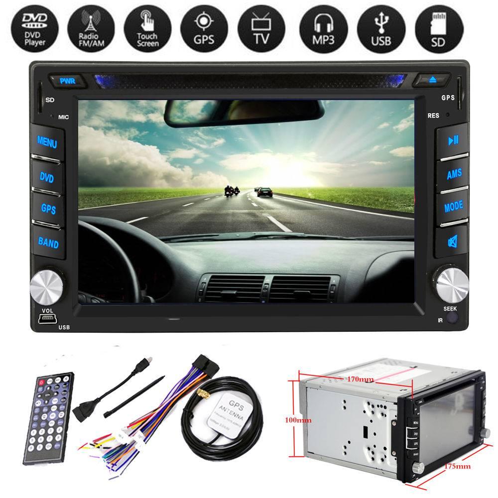 2Din 6.2 Car DVD/USB/SD Player Supply