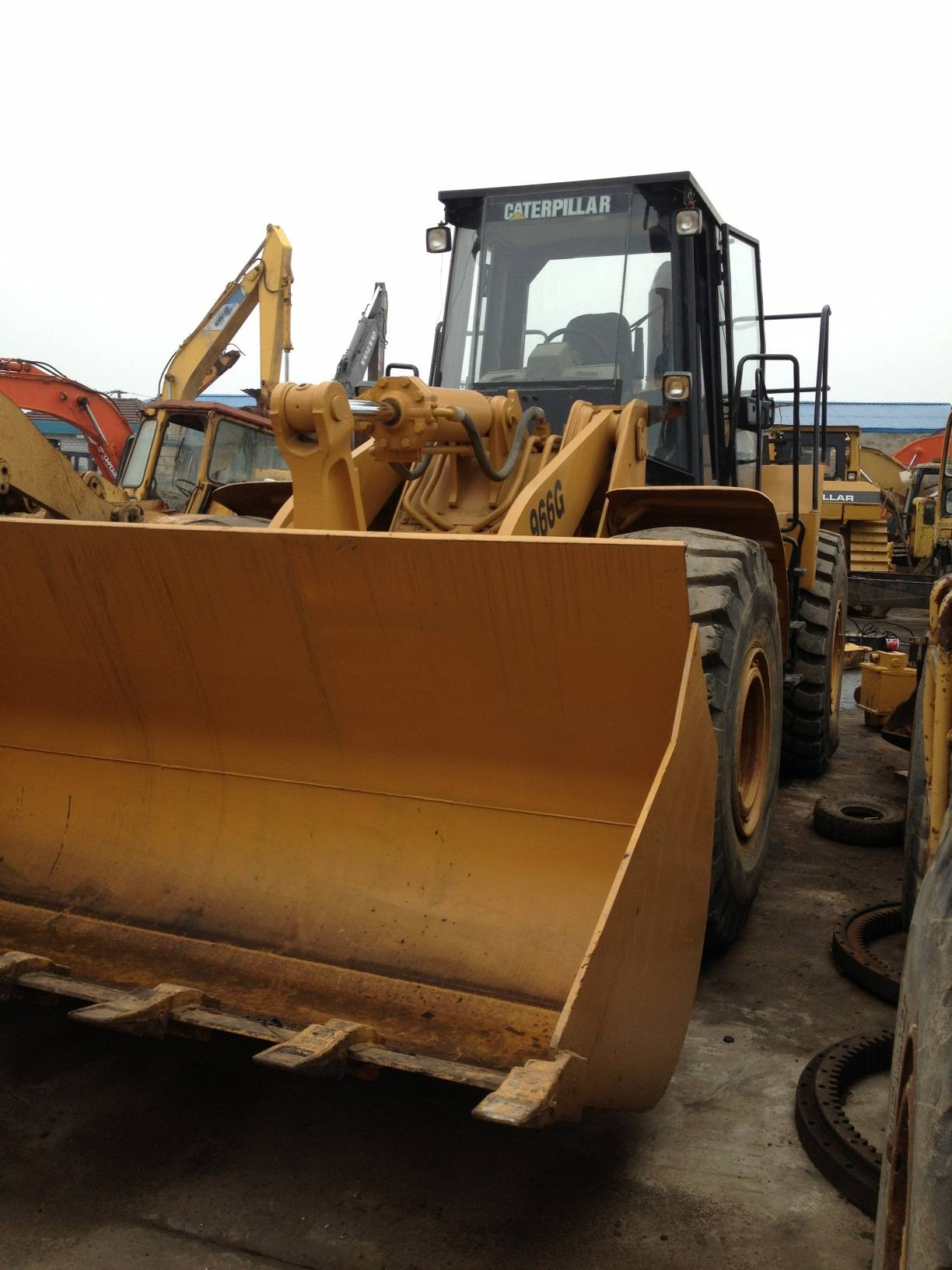 Used Cat 966F Wheel Loader, Used Loader Caterpillar 966F