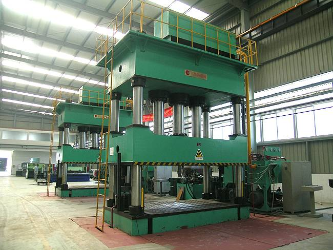 Four Column hydraulic press China