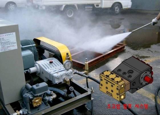HIGH PRESSURE WATER PUMP SYSTEM