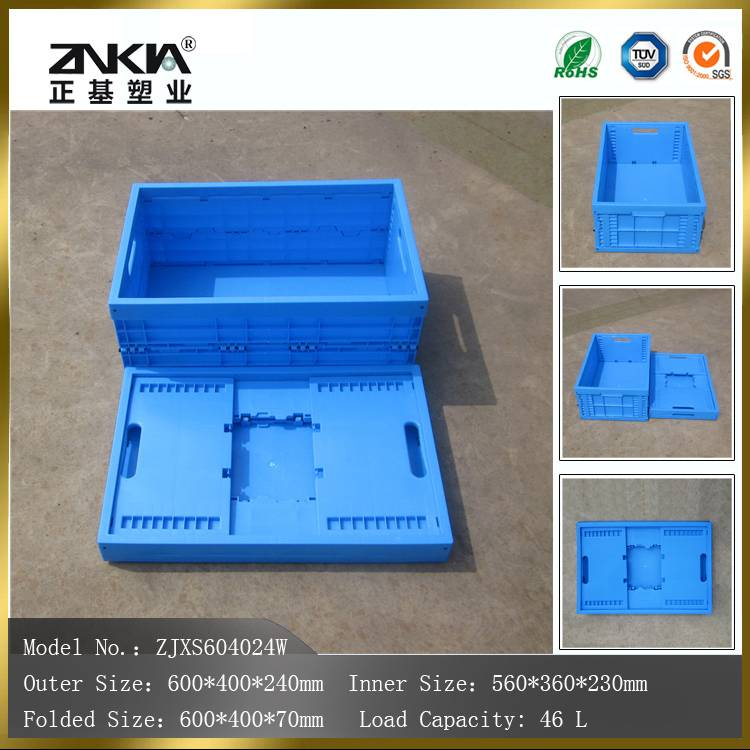plastic material moving crates
