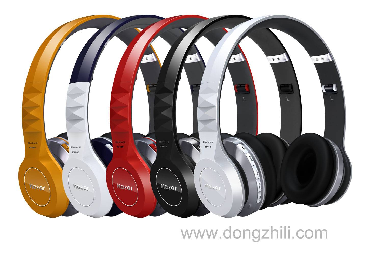 Stereo Bluetooth headphone support TF card/FM KS480