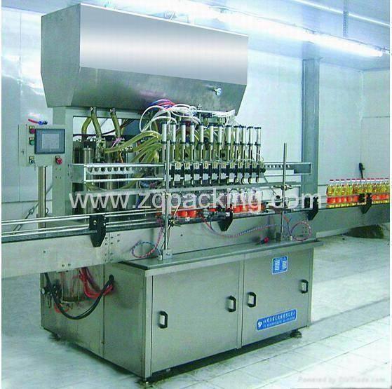 Edible Oil Filling Machine/Oil Filler , Lubricating Oil Filler