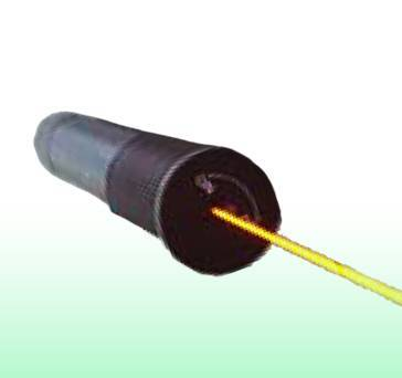Yellow laser pointer