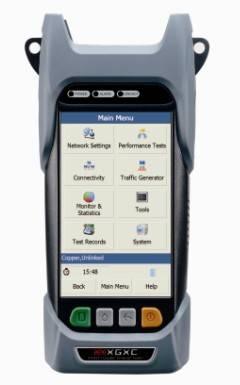 XG5250 Gigabit Ethernet Tester