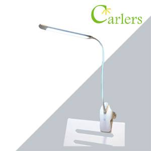 Flexible Gooseneck Arms LED Headboard Clip-on Reading Lamp with CCT Control