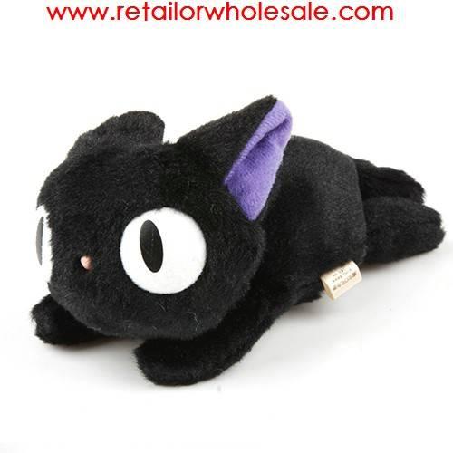 Wholesale Brand New Takkyubin Figure Black Cat Stuffed Plush Soft Toy Doll