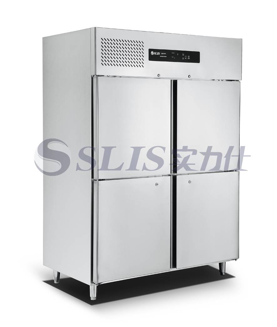 1200L Stainless Steel Freezer,Kitchen Freezer,4 Doors,LED Touch Controller