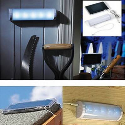 Sell Solar Power Shed room LED Lamp fixture,storage room,toolhouse,easy installation