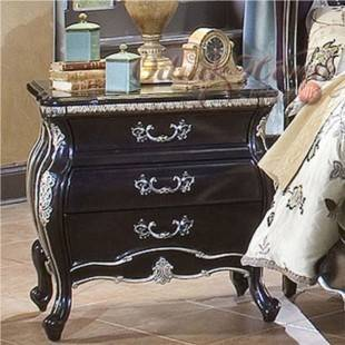European style furniture,Solid wood furniture nightstand