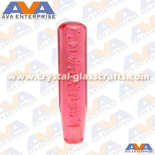 Automatic led dildo bubble gear shift knob