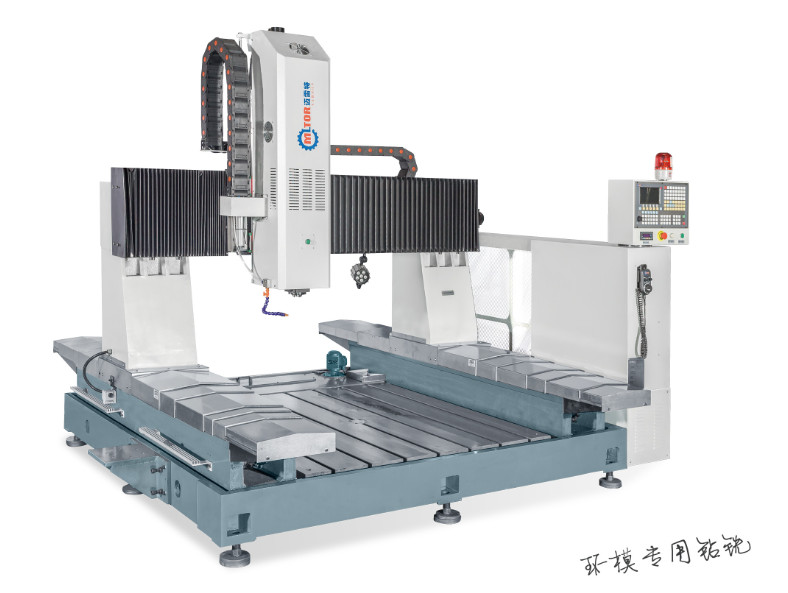 Digital Flange Hole Keyway Milling Machine for 4Cr13 Ring Die, Made in China