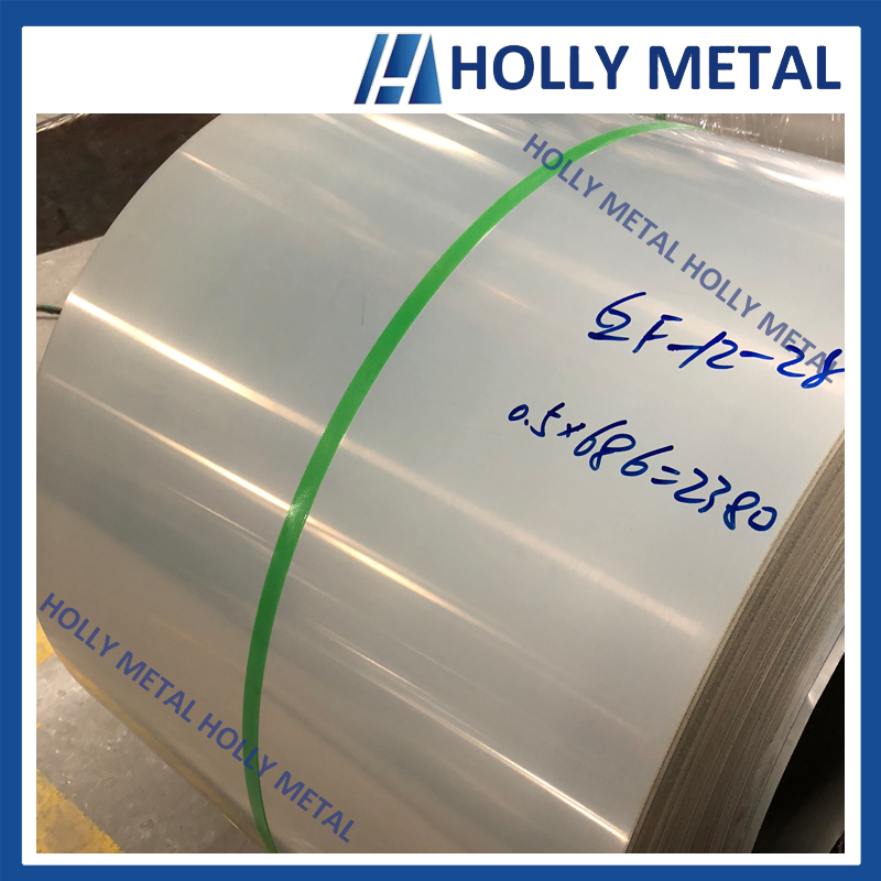 Cold Rolled Stainless Steel Coil Roll Grade 201