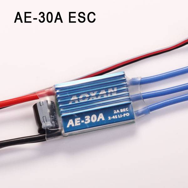 Hot-selling Brushless ESC AE-30A with BEC for rc diy toy drones