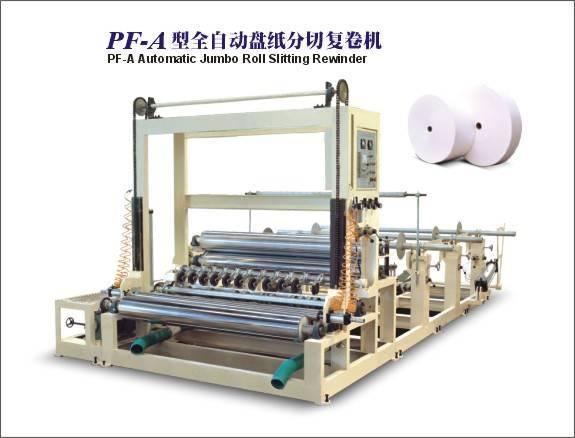 PF-A Jumbo Roll Slitting Rewinder
