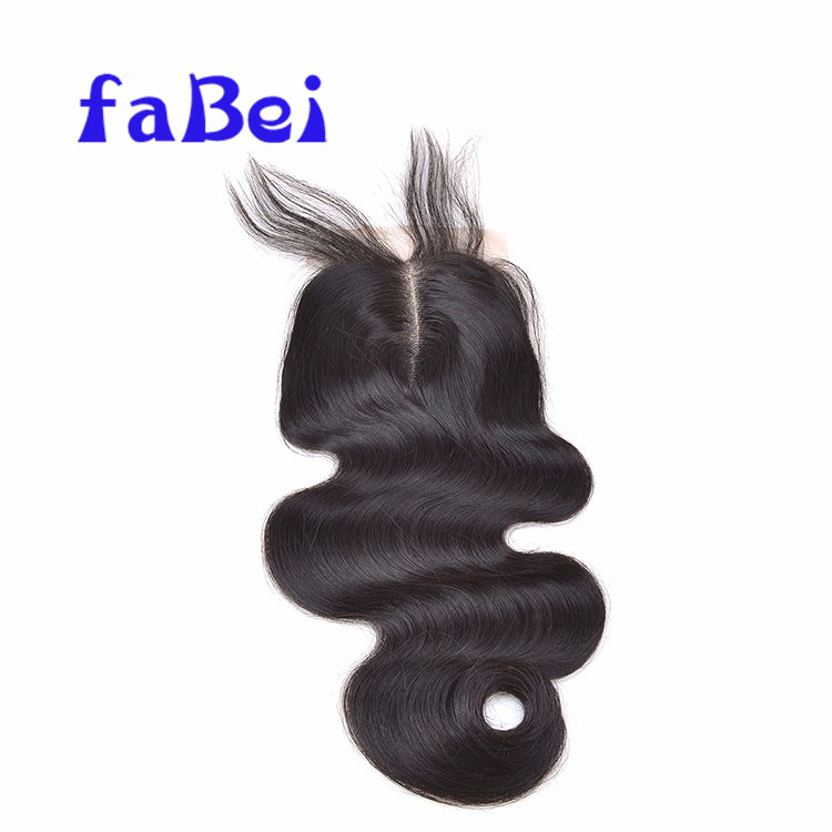 Raw Indian Temple Hair Piece Lace Closure Frontal