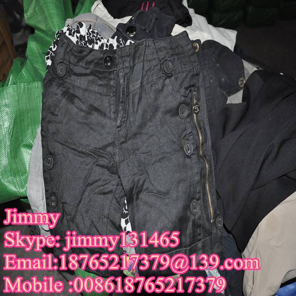 bulk cheapest wholesale used clothes in China