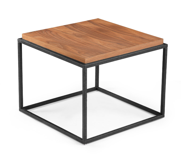 MS-3386 SHIMING Furniture antique rectangle (MDF) top coffee table with power coating iron frame