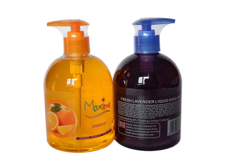china factory OEM bottled liquid hand soap