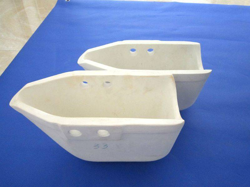 sell aluminum titanate auto pouring ladle for high pressure die casting