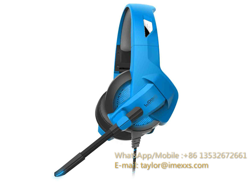GAMING HEADSETS With USB &3.5 Mm Jack